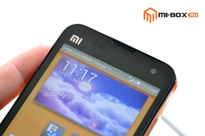 Обзор Xiaomi Mi 2S - передняя сторона