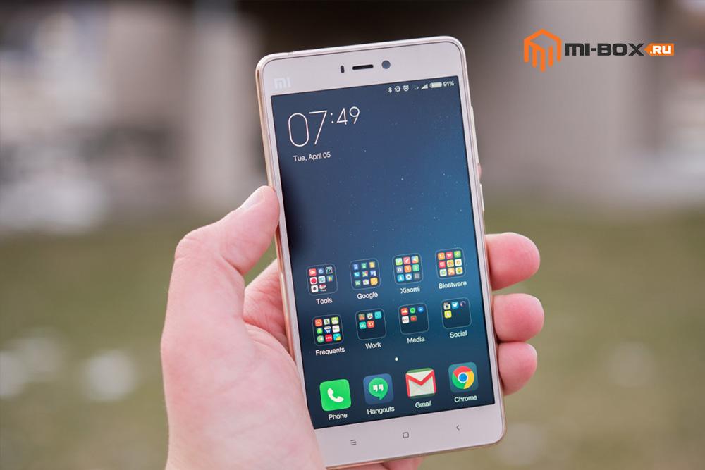 Обзор Xiaomi Mi 4S - дисплей