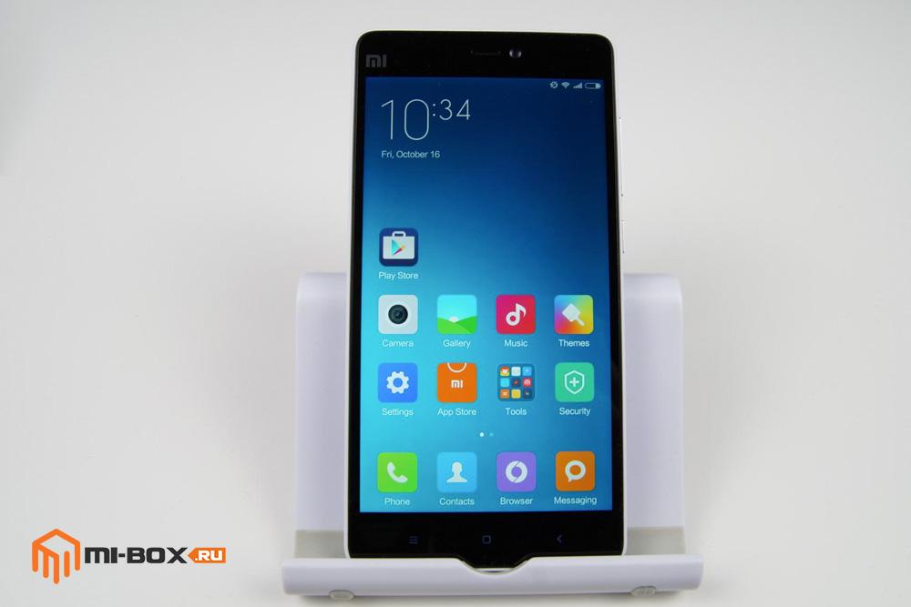 Обзор Xiaomi Mi 4c - передняя сторона