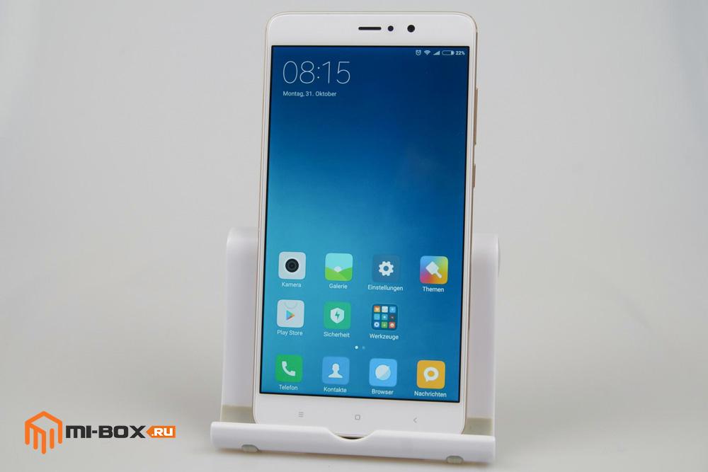 Обзор Xiaomi Mi 5s Plus - передняя сторона