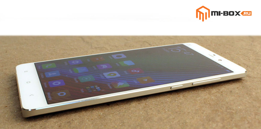 Обзор Xiaomi Mi Note - правая грань