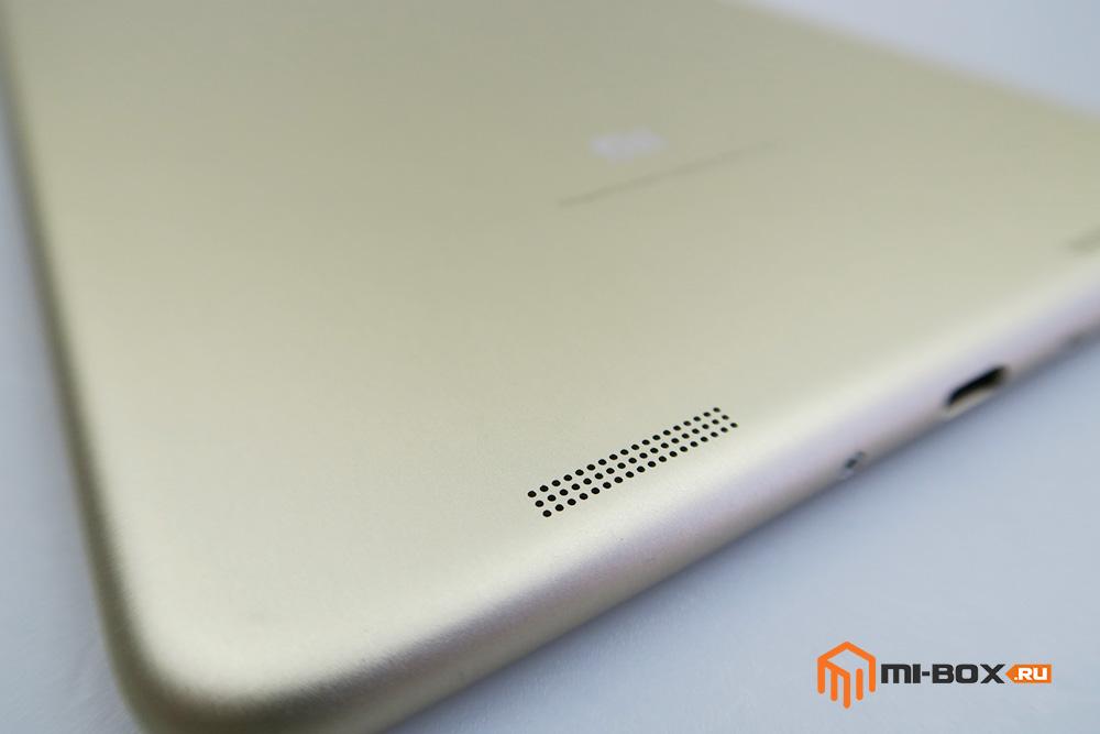 Обзор Xiaomi Mi Pad 2 - динамики