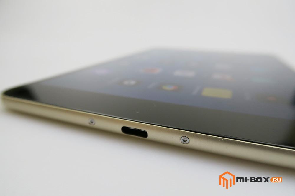 Обзор Xiaomi Mi Pad 2 - нижняя грань