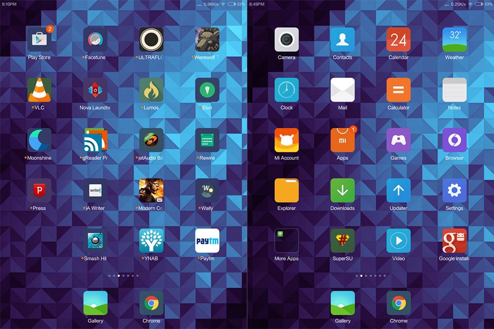 Обзор Xiaomi Mi Pad - оболочка MIUI