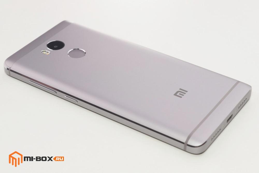 Обзор Xiaomi Redmi 4 - правая грань