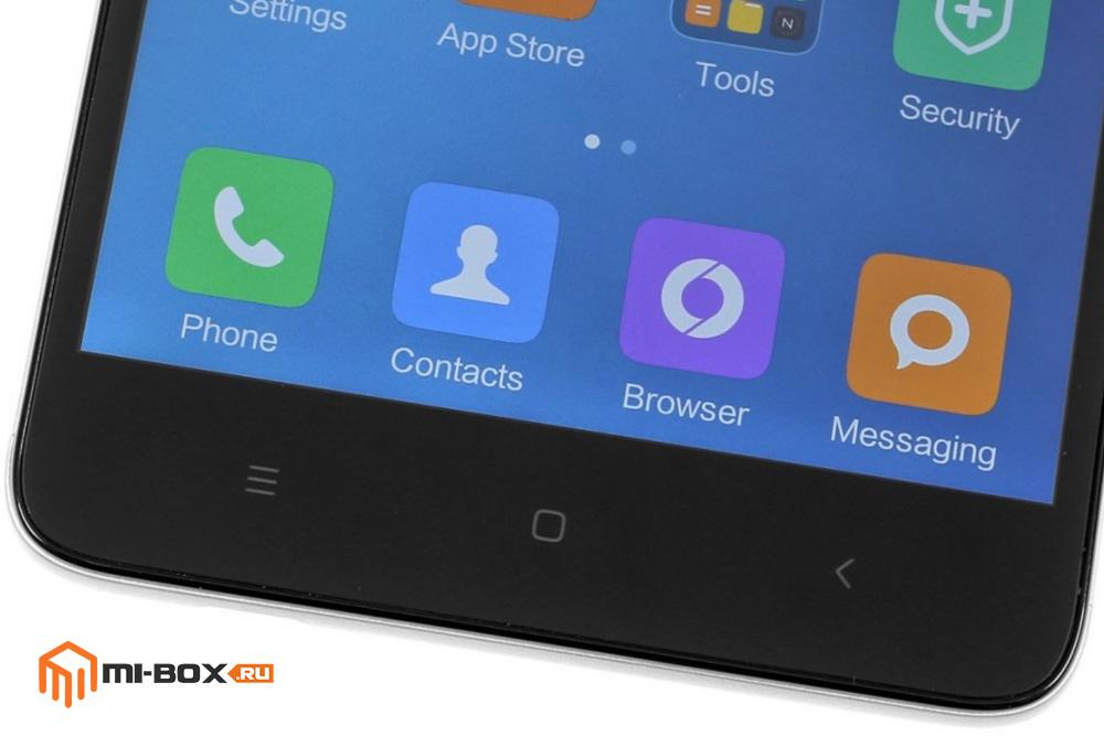 Обзор Xiaomi Redmi Note 3 - кнопки управления