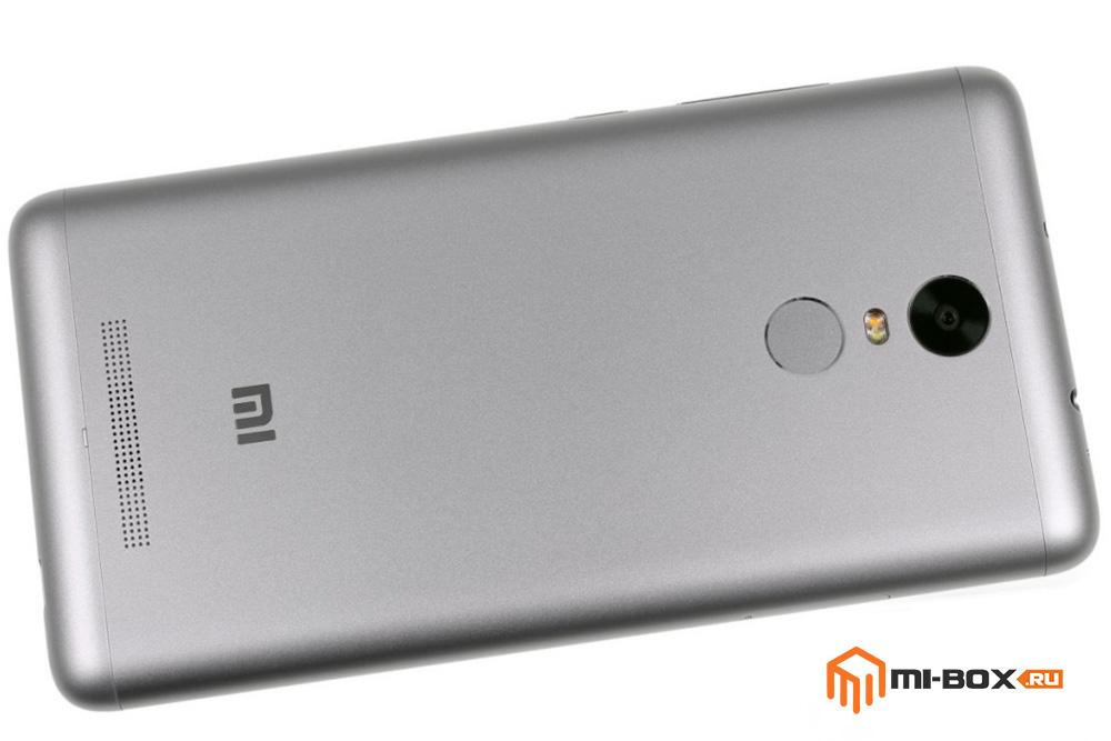 Обзор Xiaomi Redmi Note 3 - задняя сторона