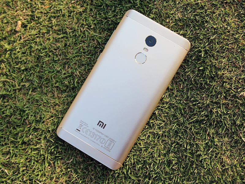 Обзор Xiaomi Redmi Note 4 - задняя сторона