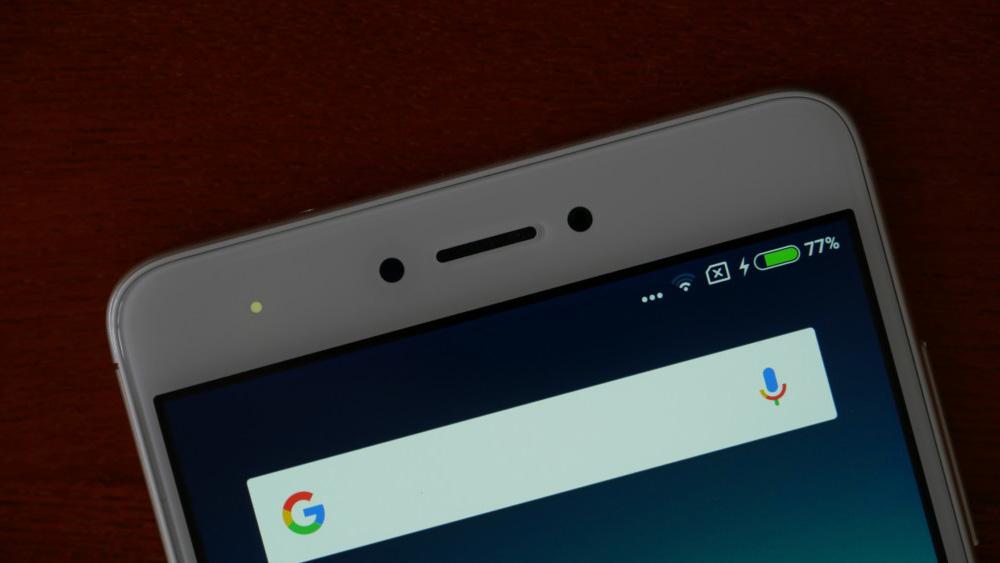 Обзор Xiaomi Redmi Note 4x - фронтальная камера