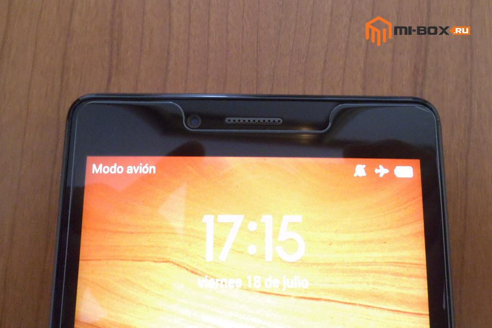 Обзор Xiaomi Redmi Note - фронтальная камера
