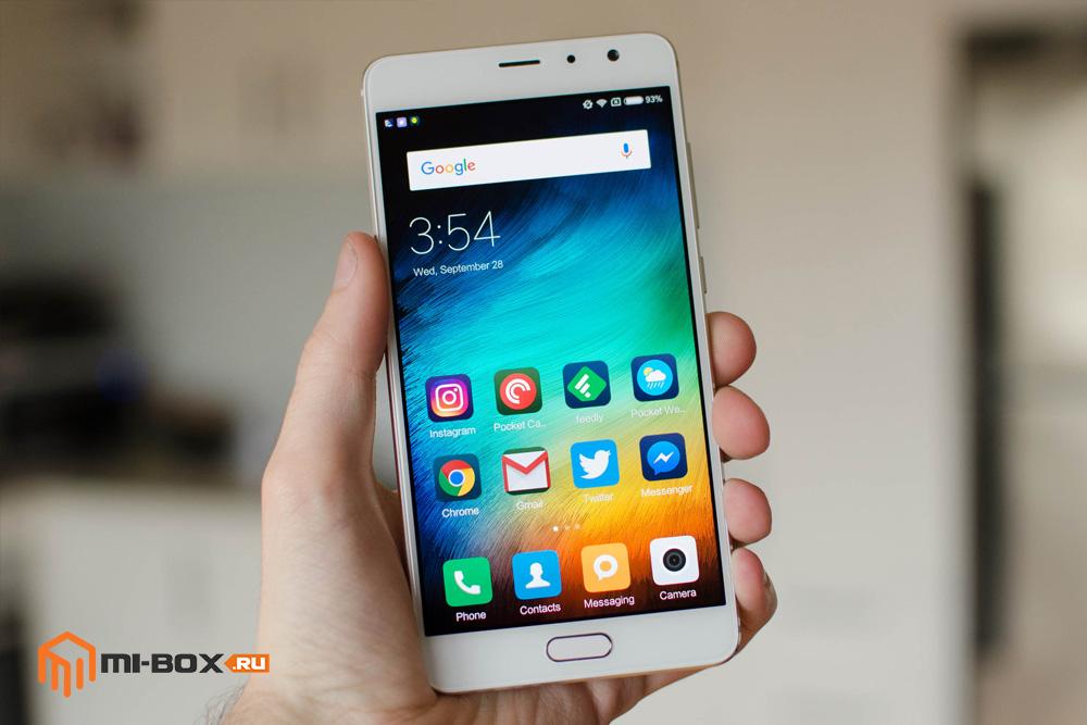 Обзор Xiaomi Redmi Pro - передняя сторона
