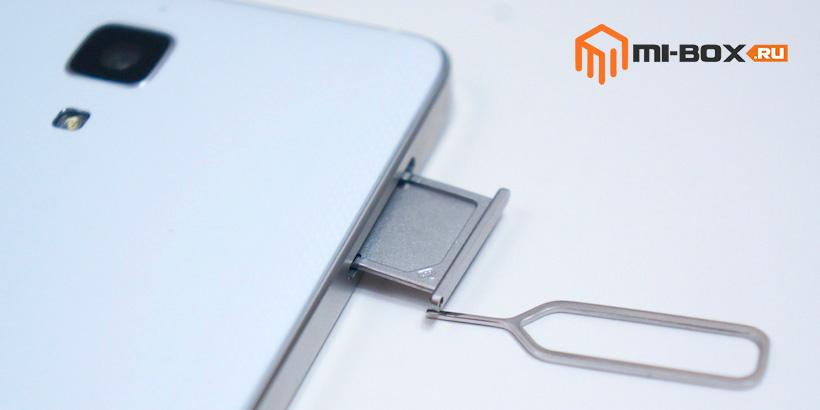 Обзор Xiaomi Mi 4 - левая грань
