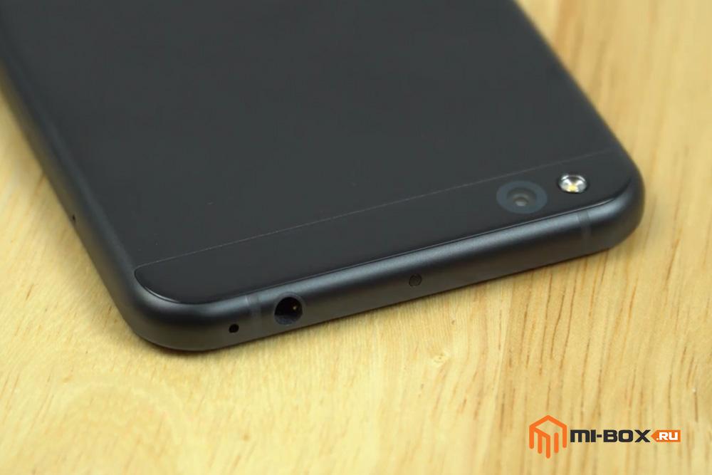Обзор Xiaomi Mi 5c - верхняя грань и основная камера