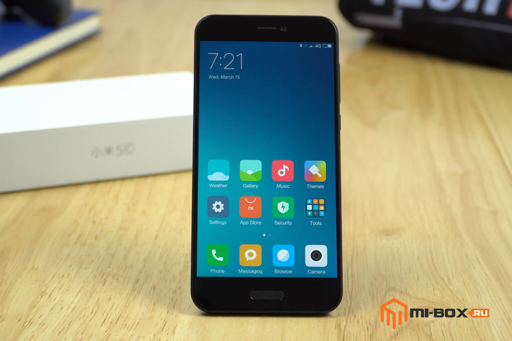 Обзор Xiaomi Mi 5c - внешний вид
