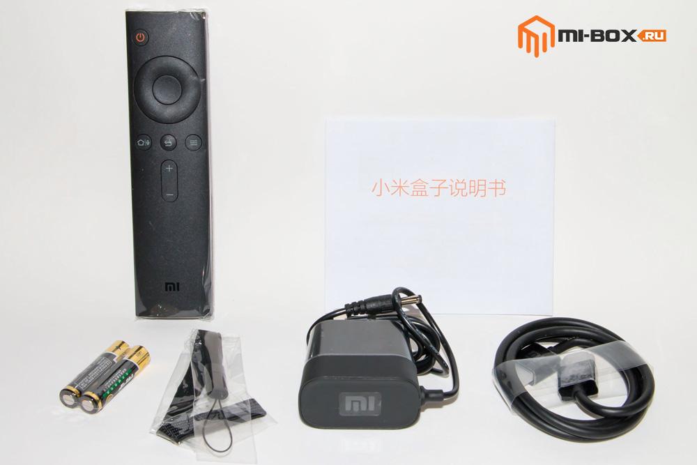 Обзор Xiaomi Mi Box 3 - комплектация