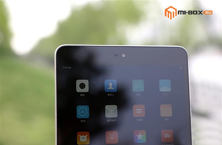 Обзор Xiaomi Mi Pad 3 - фронтальная камера