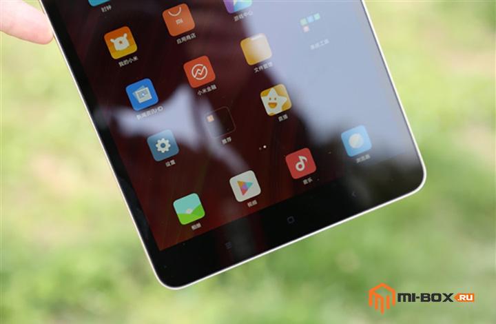 Обзор Xiaomi Mi Pad 3 - кнопки управления