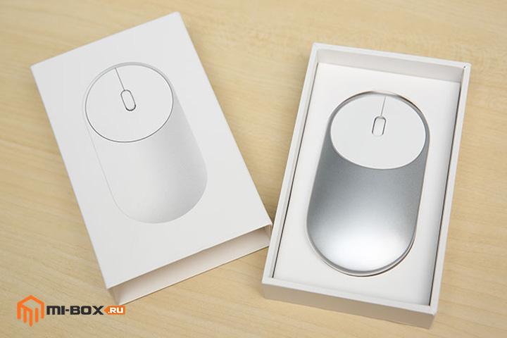 Обзор Xiaomi Portable Mouse - упаковка