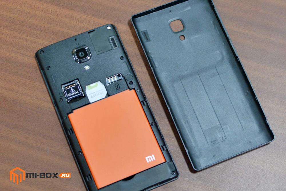 Обзор Xiaomi Redmi 1s - аккумуляторная батарея