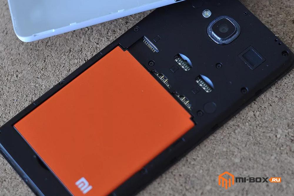 Обзор Xiaomi Redmi 2 - аккумулятор