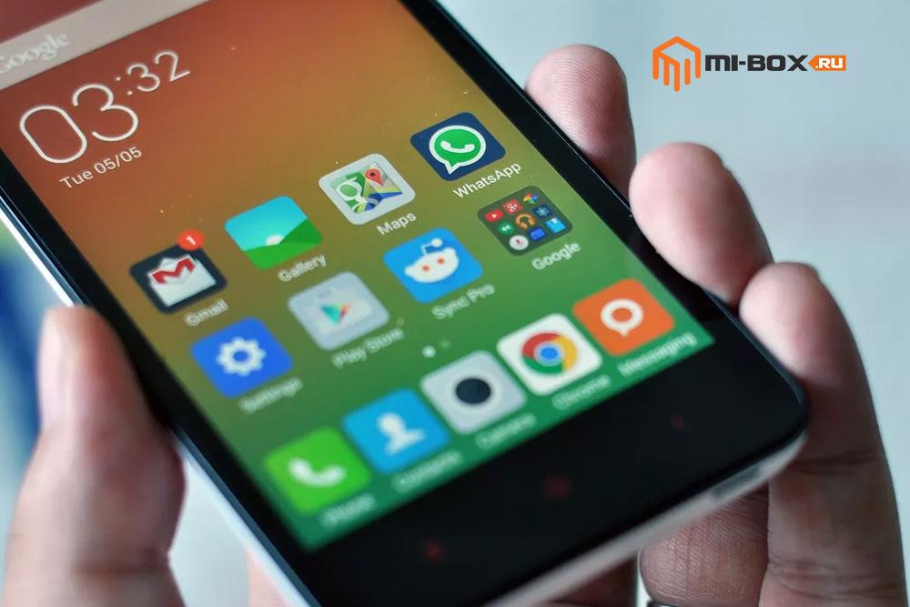 Обзор Xiaomi Redmi 2 - кнопки навигации