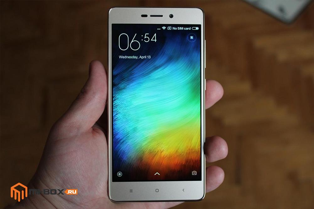 Обзор Xiaomi Redmi 3 Pro - дисплей