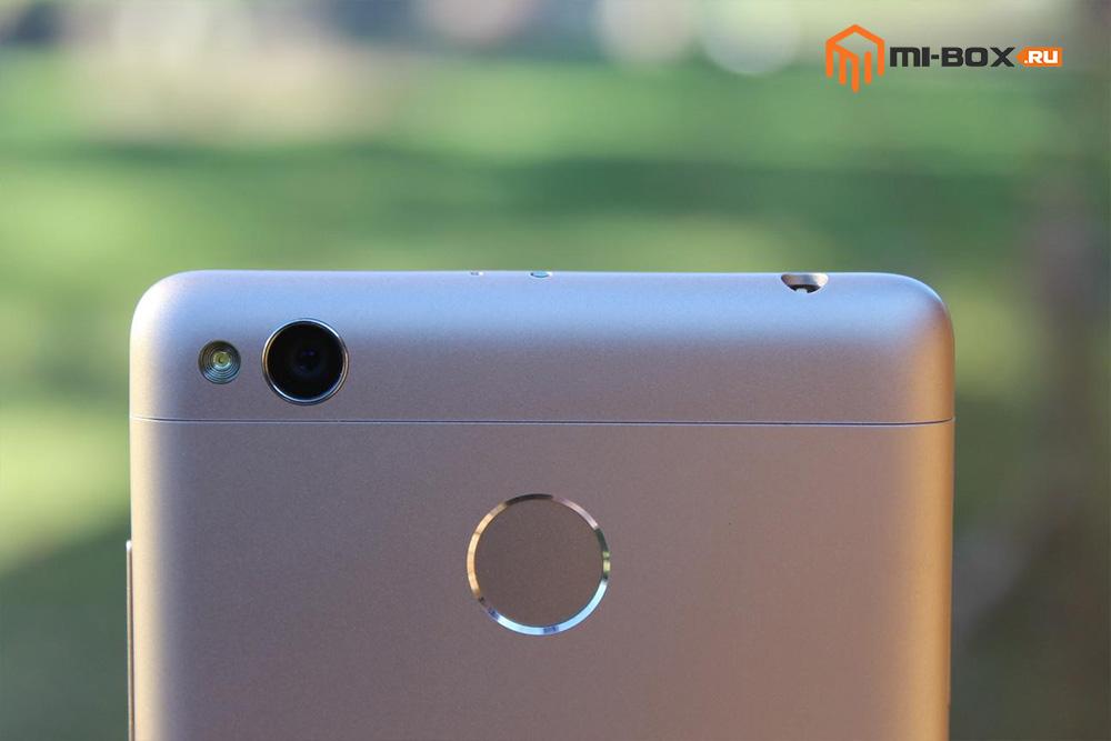 Обзор Xiaomi Redmi 3 Pro - камера и сканер отпечатов