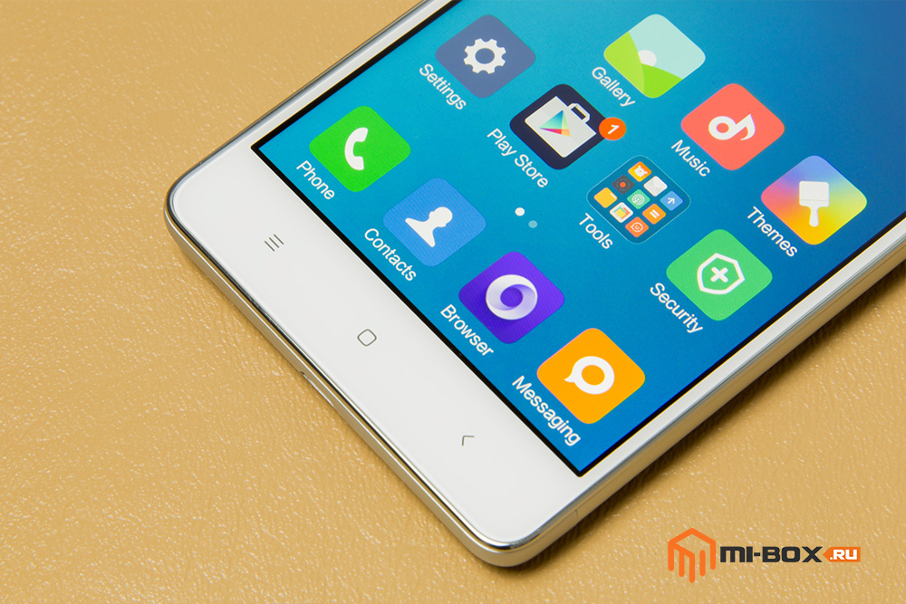 Обзор Xiaomi Redmi 3 - кнопки управления