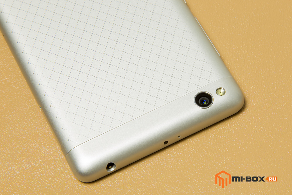 Обзор Xiaomi Redmi 3 - основная камера и верхняя грань