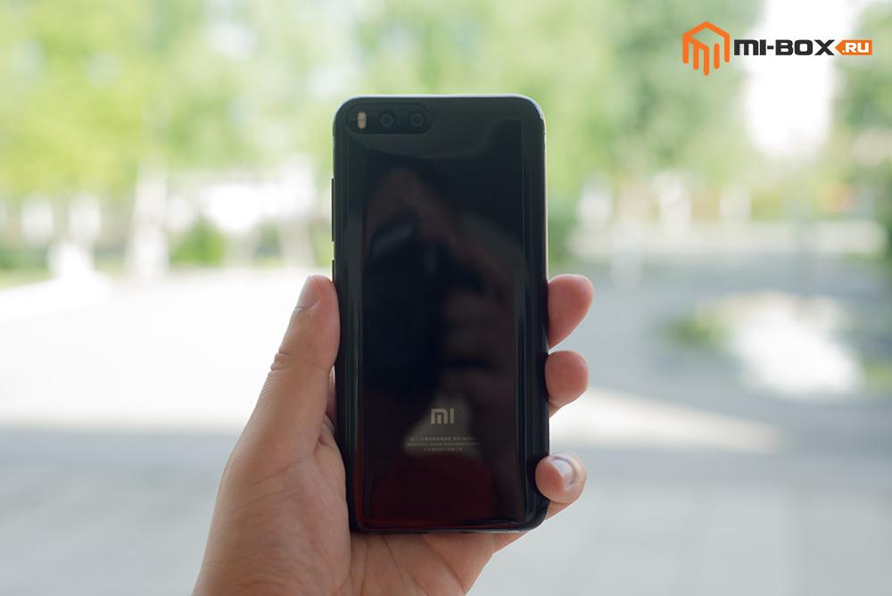 Обзор смартфона Xiaomi Mi6 - задняя сторона