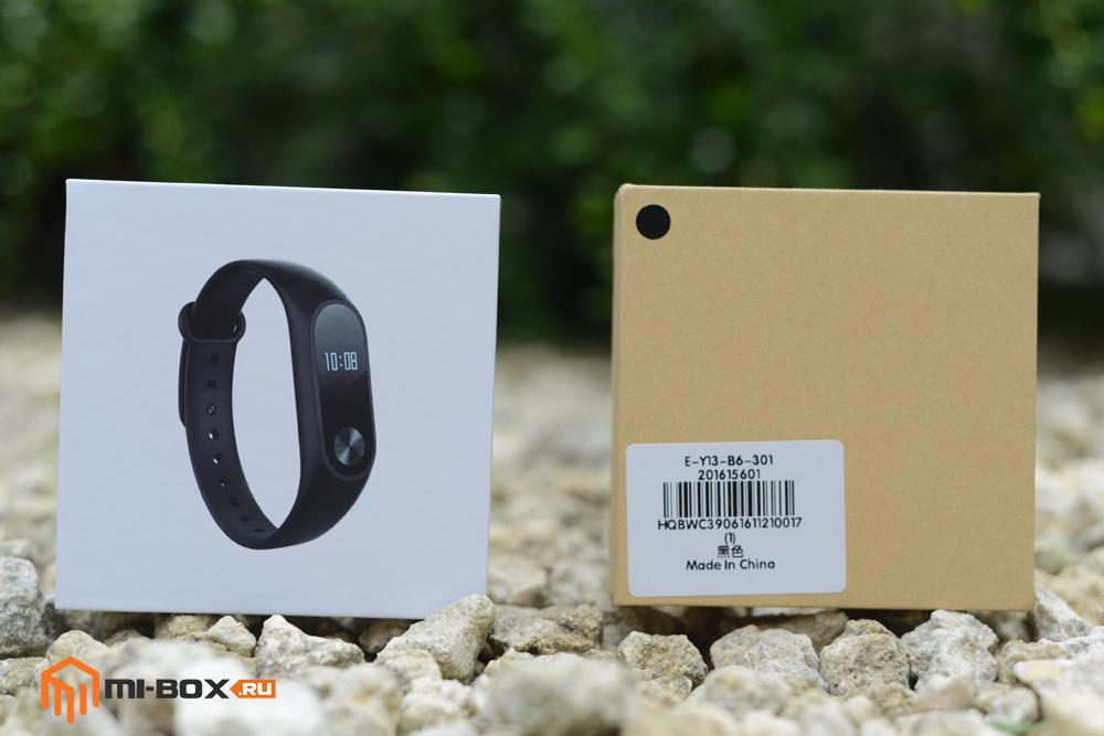 Подделка Xiaomi Mi Band 2 - сравнение упаковки с оригиналом