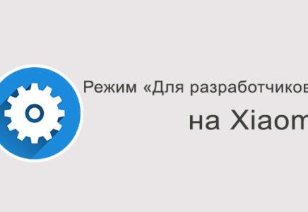 Как включить на смартфоне Xiaomi режим разработчика?
