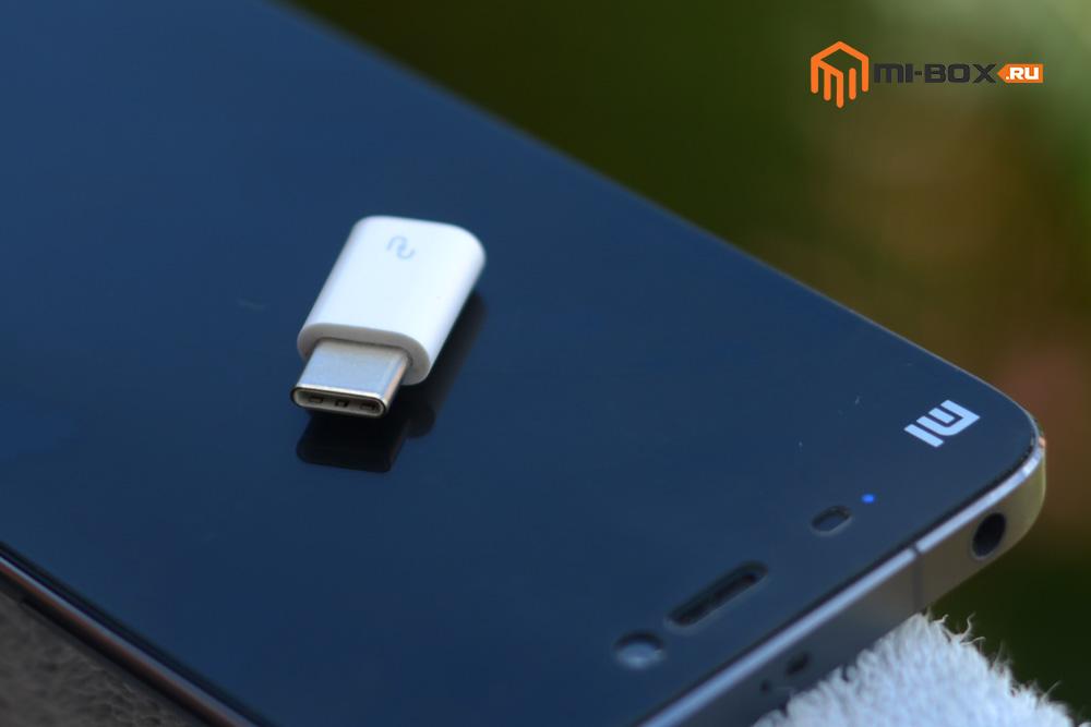 Переходник Xiaomi Micro-Usb - Usb Type-C