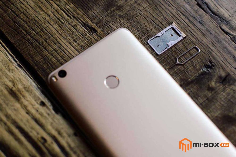 Обзор Xiaomi Mi Max 2 - слот для sim-карт