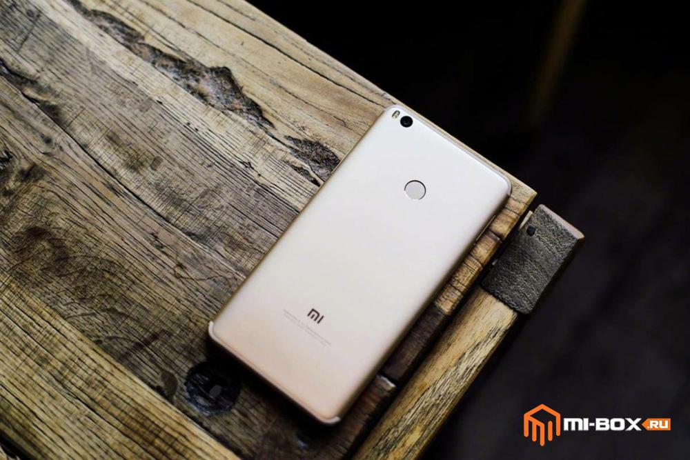 Обзор Xiaomi Mi Max 2 - задняя сторона