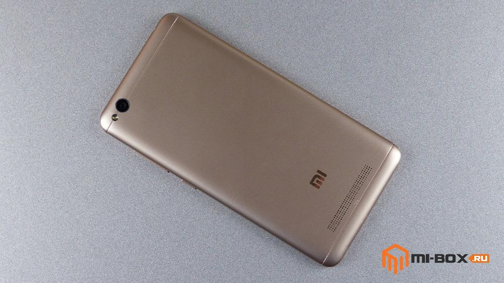 Обзор Xiaomi Redmi 4a - задняя сторона