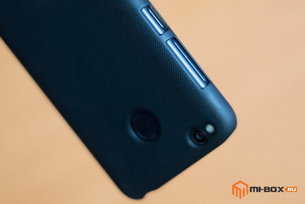 Чехол Nillkin для Xiaomi Redmi 4x - вырезы под кнопки и камеру
