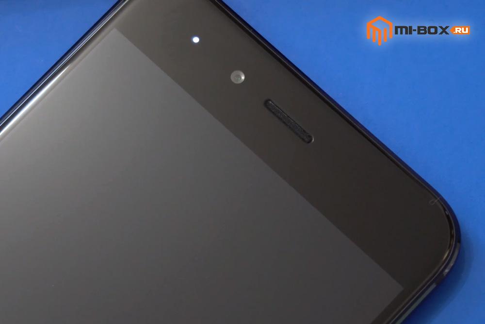 Обзор Xiaomi Mi 5x - фронтальная камера и датчики