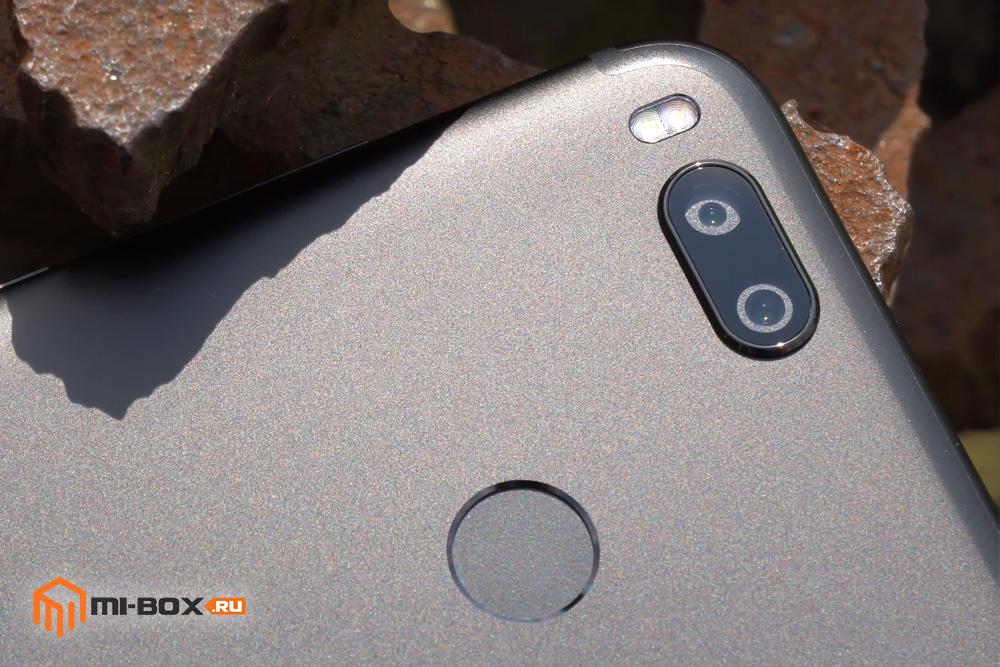 Обзор Xiaomi Mi 5x - основная камера и сканер отпечатков
