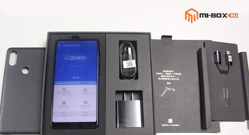Обзор Xiaomi Mi Mix 2s - комплектация