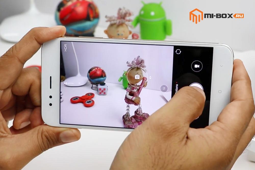 Обзор Xiaomi Mi A1 - приложение Камера