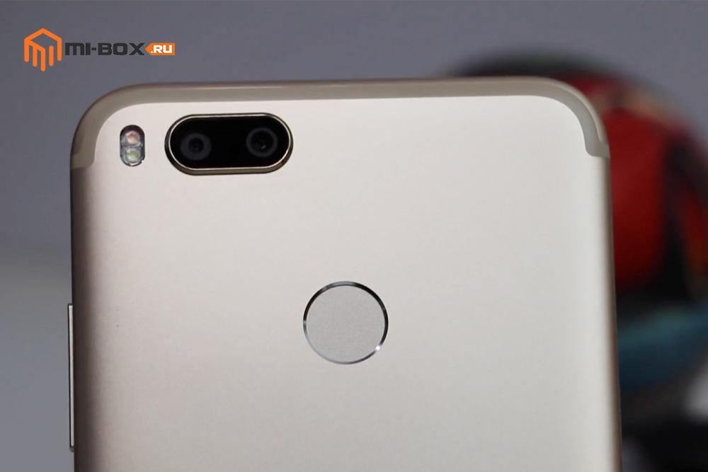 Обзор Xiaomi Mi A1 - сканер отпечатков