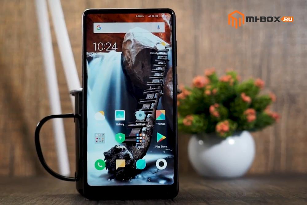 Обзор Xiaomi Mi Mix 2 - внешний вид