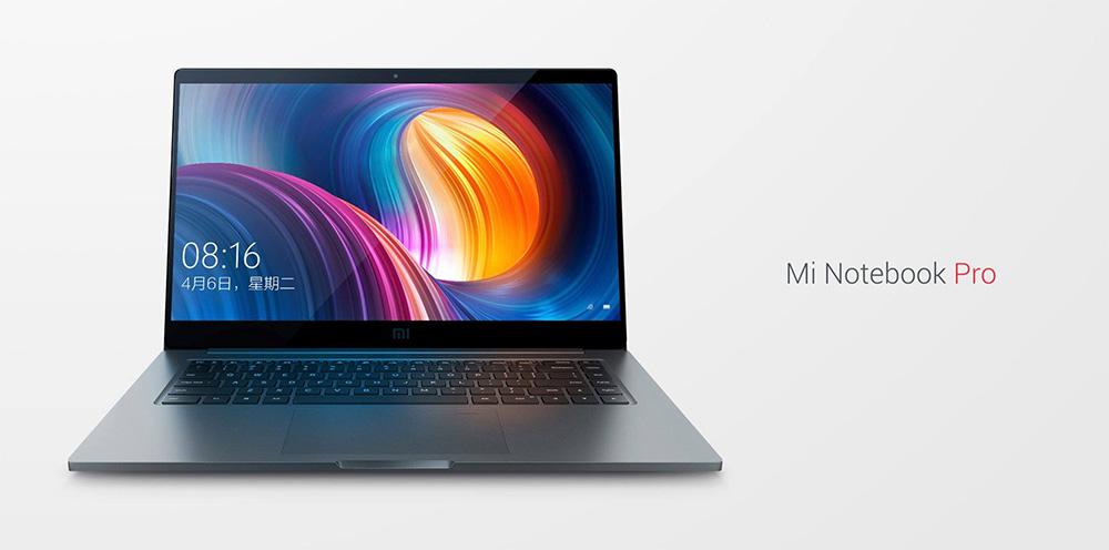 Xiaomi Mi Notebook PRO - дисплей