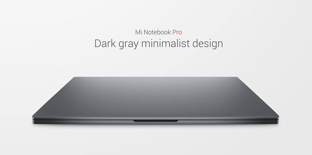 Xiaomi Mi Notebook PRO - тонкий металлический корпус
