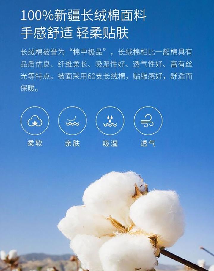 Xiaomi представили умное одеяло с регуляцией температуры