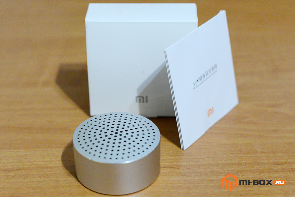 Обзор Xiaomi Mi Bluetooth Speaker Portable - комплектация