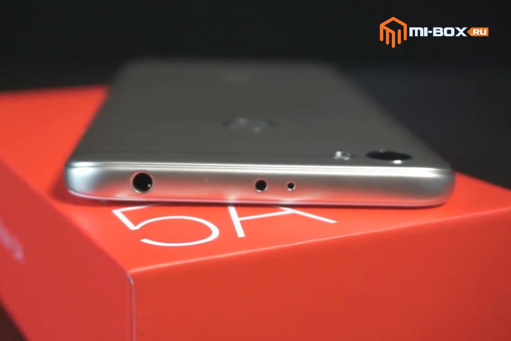 Обзор Xiaomi Redmi Note 5a Prime - верхняя грань