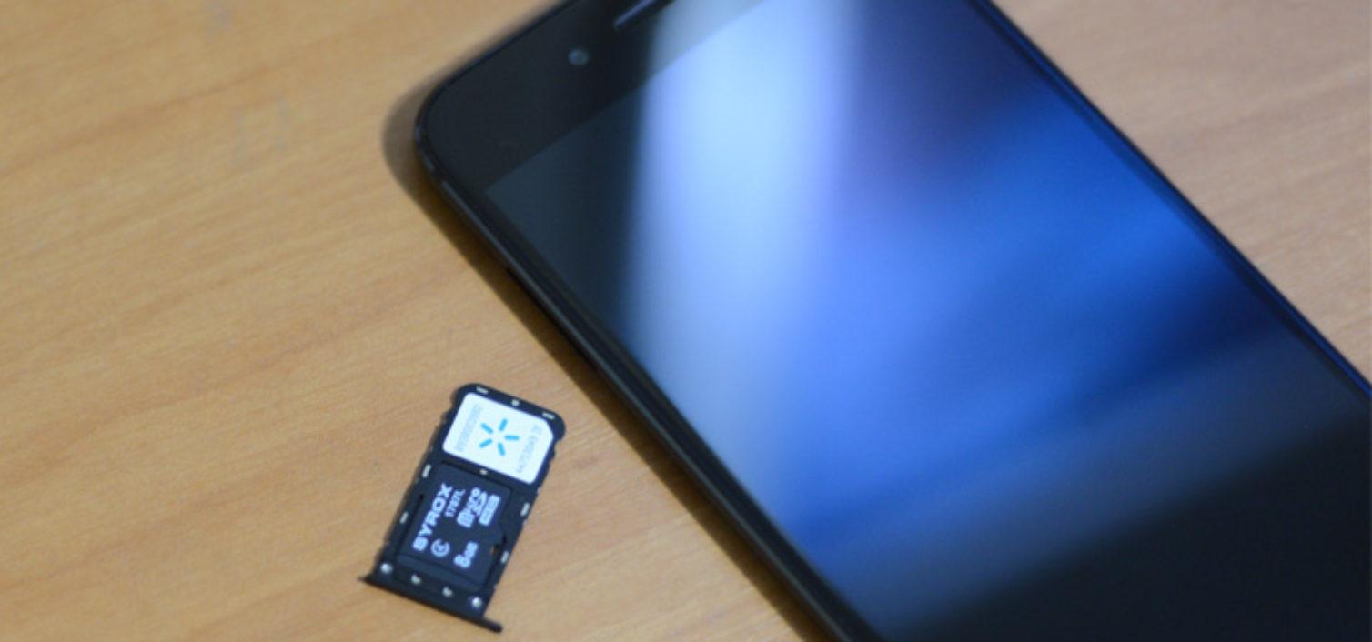 Как вставить сим карту в Xiaomi Mi A1?