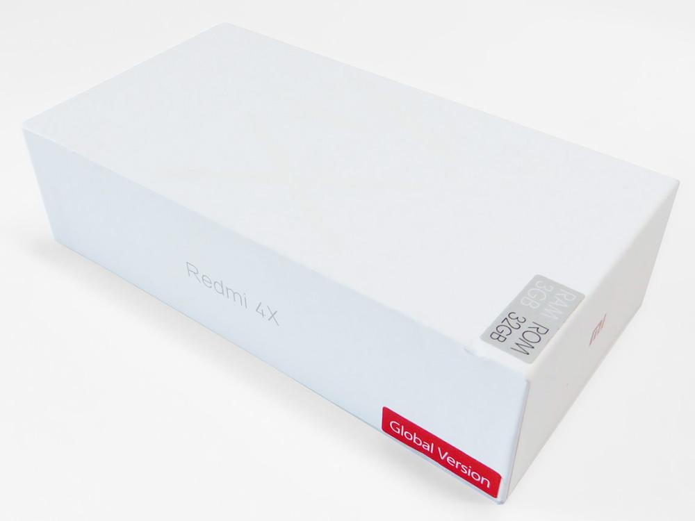 Xiaomi Redmi 4x глобальная версия